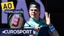 Pierre-Hugues Herbert vs Milos Raonic Highlights Australian Open 2019 Round 3 Eurosport