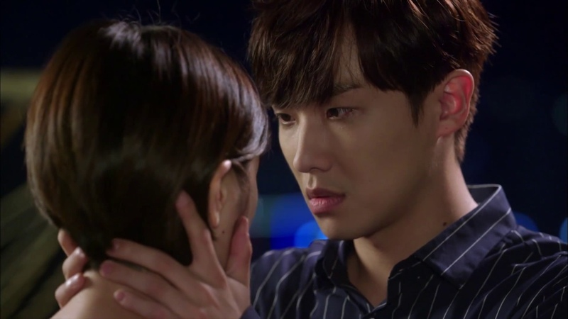 [My Father is Strange] Ep47_ Lee Joon Jung SoMin's kiss scene