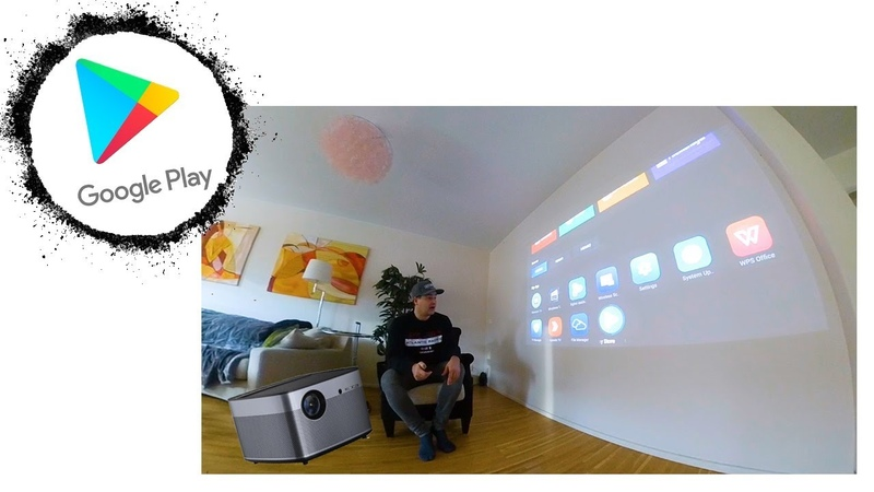 How to install Google Play Store - Xgimi H2 projector (Global Version)