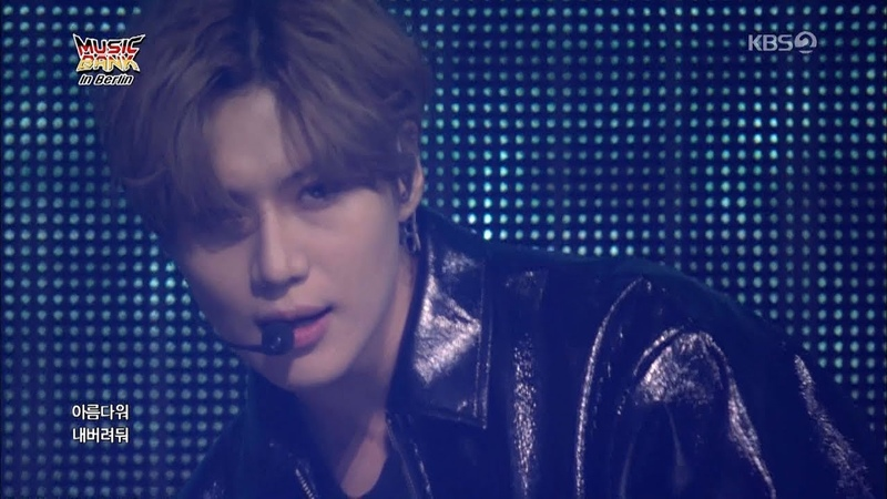 TAEMIN 태민 Special Stage 'MOVE' KBS MUSIC BANK in Berlin 2018.10.31