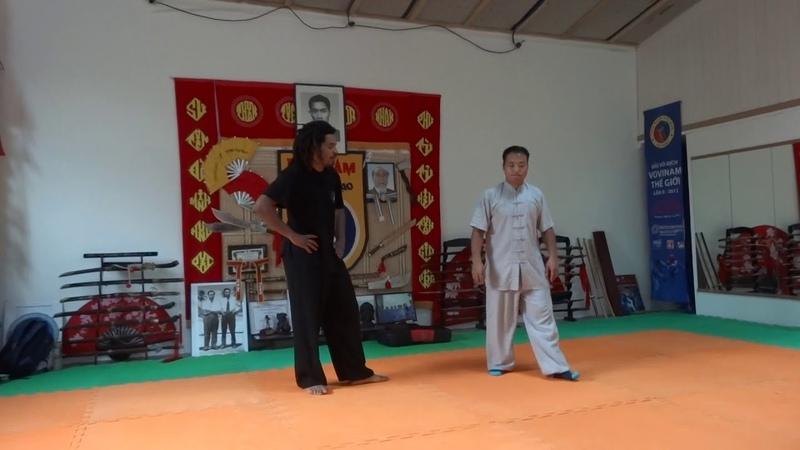陳超師傅仁飄零太極拳技擊 Master Chen Chao taijiquan techniques