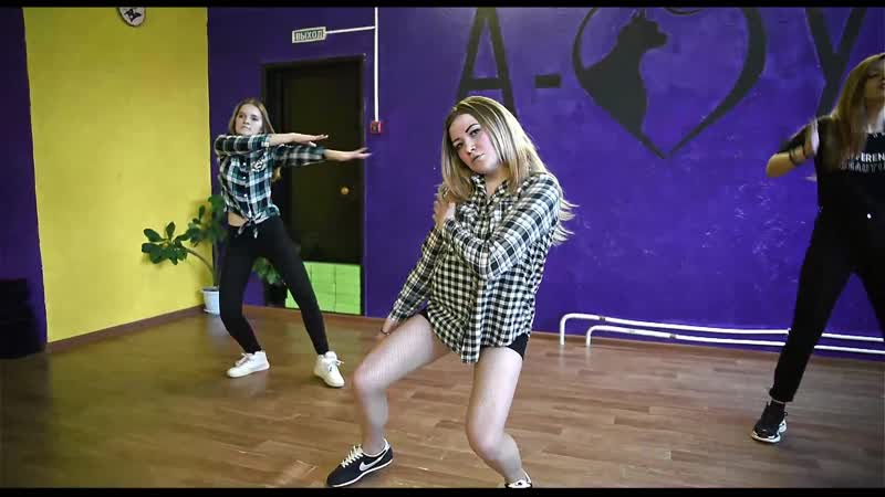 Бомбический танец Маша Лена Кристина в Амур Винзили Дэнс