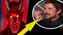 Christian Bale lässt sich von Satan inspirieren ? Golden Globes 2019. plakativer gehts nicht !