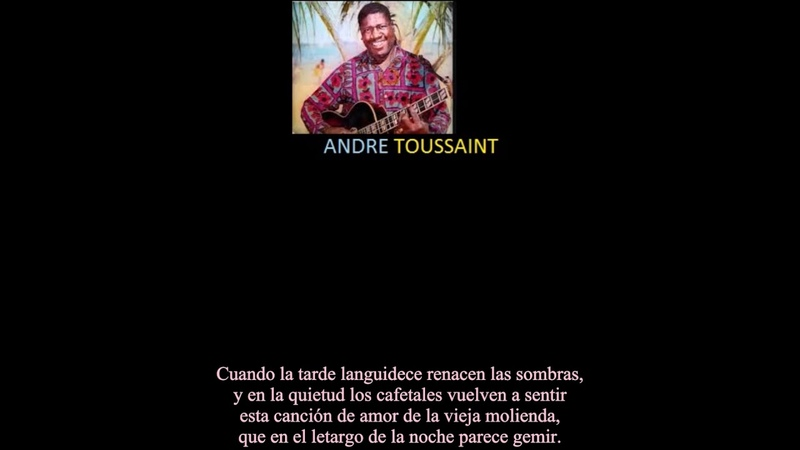 Bahamas Singer- Andre Toussaint- Moliendo Cafe [Grinding coffee]