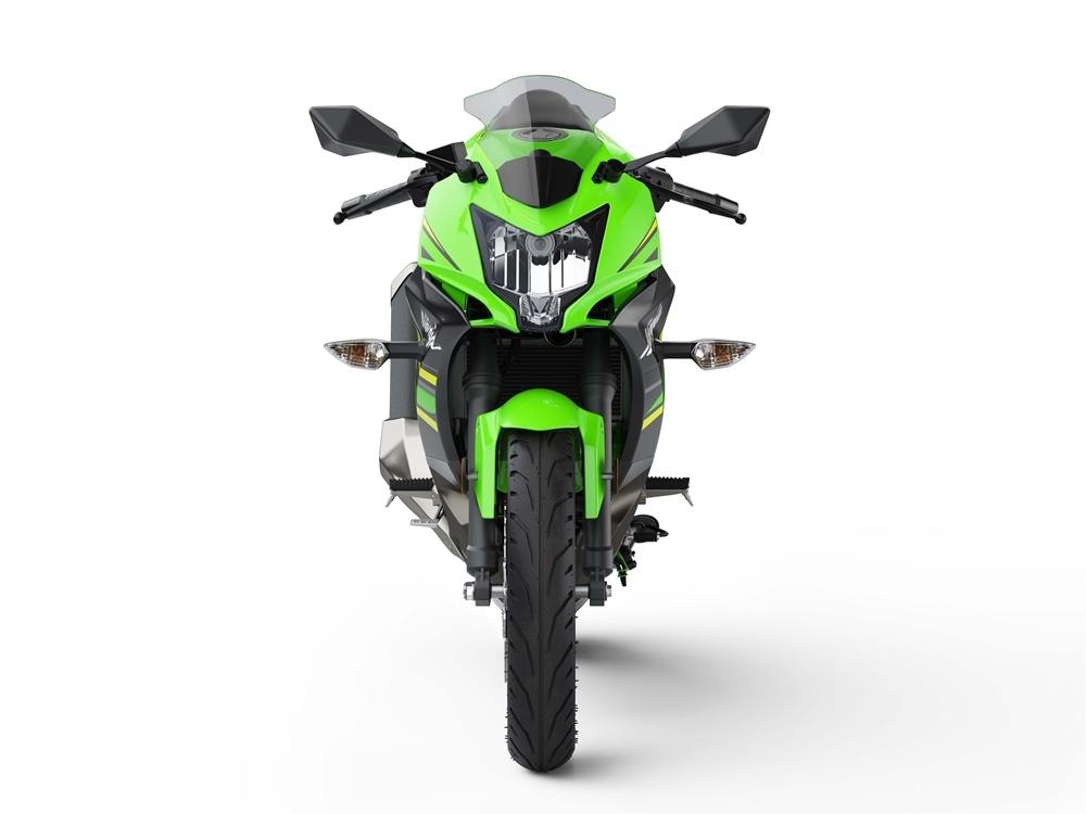 Малокубатурный спортбайк Kawasaki Ninja 125 2019
