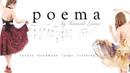 Flipbook poema circle skirt compilation