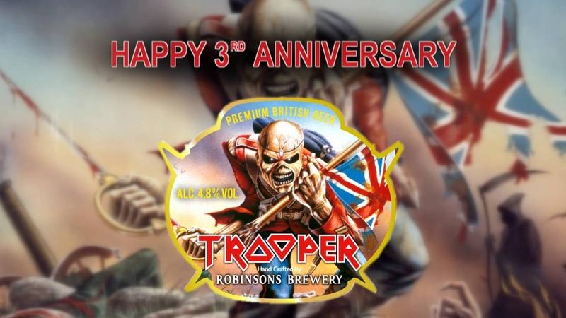Iron Maiden - Happy 3rd Anniversary TROOPER