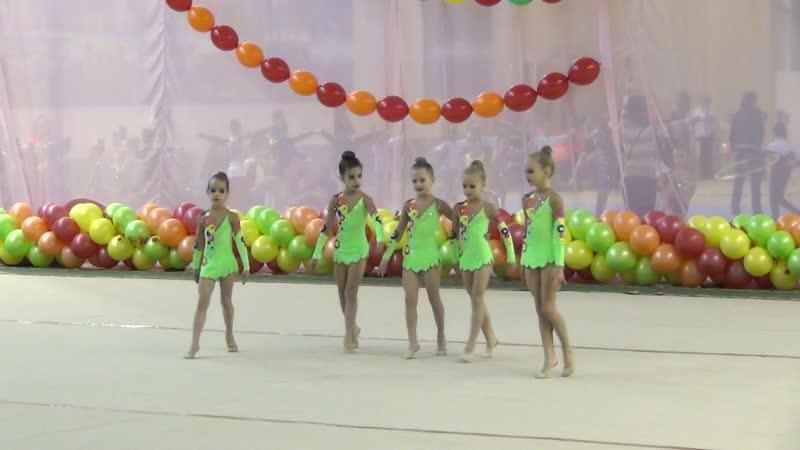 Команда Куколки ДЮСШ ВИР г. Екатеринбург - Б/П по пр. 2 юн. разряда