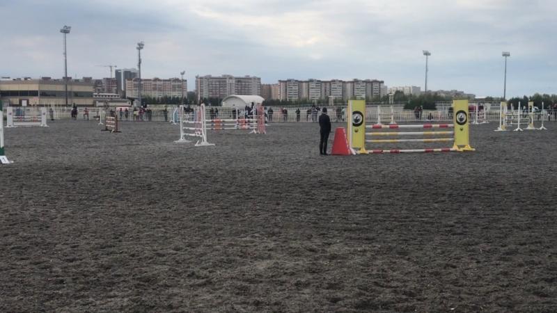 Афанасьева Карина и Забег 110 см классический