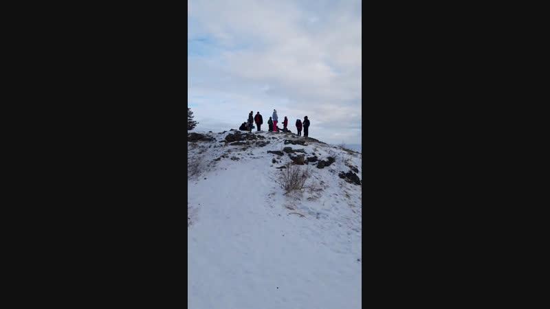Мы на вершине горы Сугомак