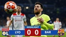 Lyon vs Barcelona 0-0 Highlights All Goals - 2019