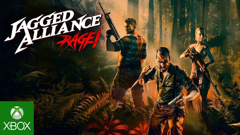 Jagged Alliance Rage! - Official Launch Trailer