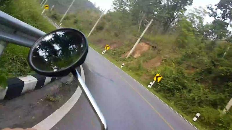 47 километров страха, или дорога из Пая к пещере Tham Lod