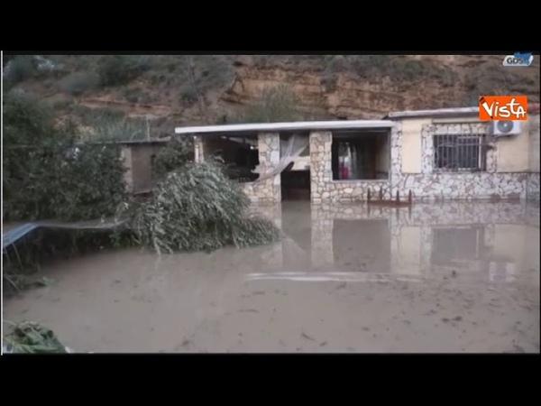 Fango e devastazione a Palermo, la villa a Casteldaccia dopo la tragedia