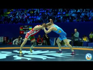 Киевский-2019, 57кг, финал, Владислав Андреев (Беларусь) - Тарас Маркович (Украина) 2-2+