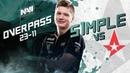 NAVI POV: s1mple vs Astralis @ BLAST Lisbon 2018