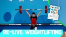 RE LIVE Day 02 Weightlifting Youth Olympic Games 2018  Buenos Aires