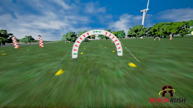 FPV симулятор Rotor Rush - Test Track