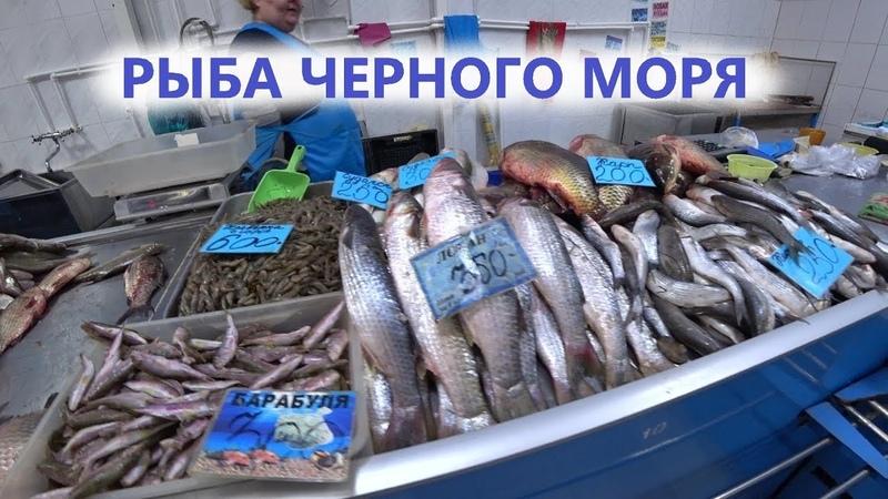 Готовлю черноморскую рыбу - БАРАБУЛЯ И ЛОБАНЬ