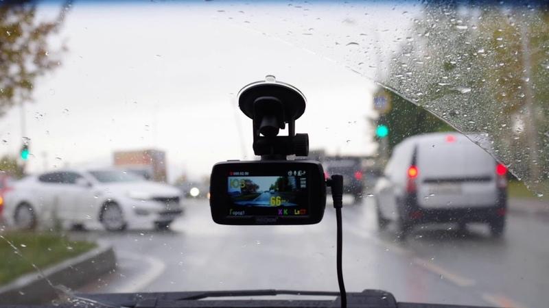 Recxon Ultra Red GPS GLONASS Пример работы оповещений
