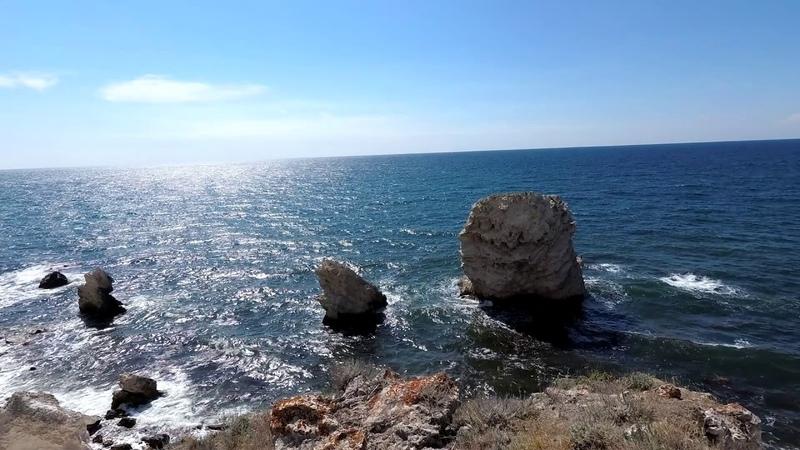 Велопоход по берегу Крыма 2018 часть 1 Оленевка
