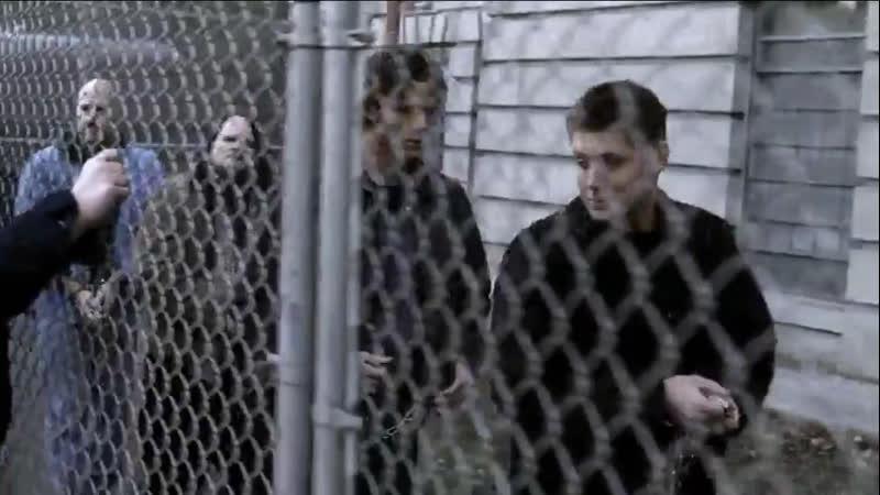 Сэм и Дин в тюрьме