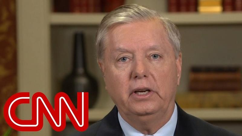 Graham to CNN anchor Thats a bunch of bulls***
