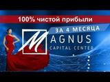 Magnus Обзор торгового счета за 4 месяца