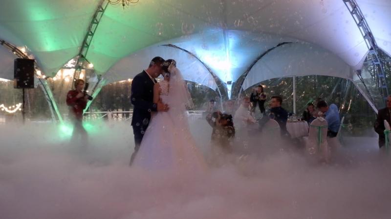 ТЯЖЕЛЫЙ ДЫМ 2 ГЕНЕРАТОРА МЫЛЬНЫХ ПУЗЫРЕЙ на первый свадебный танец в СПб. Очень нежный романтичный МИКС 8 (921) 406-84-88
