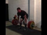 Люк Ричардсон тянет 360 кг на 2 повторения