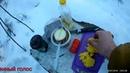 Готовка в лесу Тест подкотельника щепочницы Суп из гречи