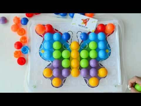 Крупная мозайка для малышей игрушки для самых маленьких