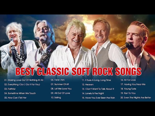 Air Supply Lobo B'ryan A'dams Rod Stewart Greatest Hits Best Classic Soft Rock Songs Collection