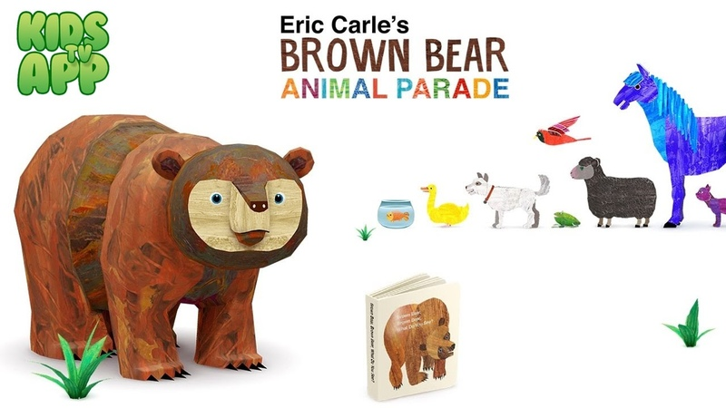 Eric Carle's Brown Bear Animal Parade StoryToys Entertainment Limited Best App For Kids