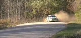 Skoda Fabia R5 on the limit