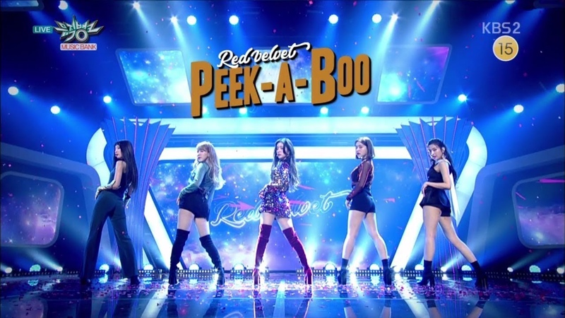 Red Velvet 레드벨벳 Comeback Stage 피카부 (Peek-A-Boo) KBS MUSIC BANK 2017.11.17