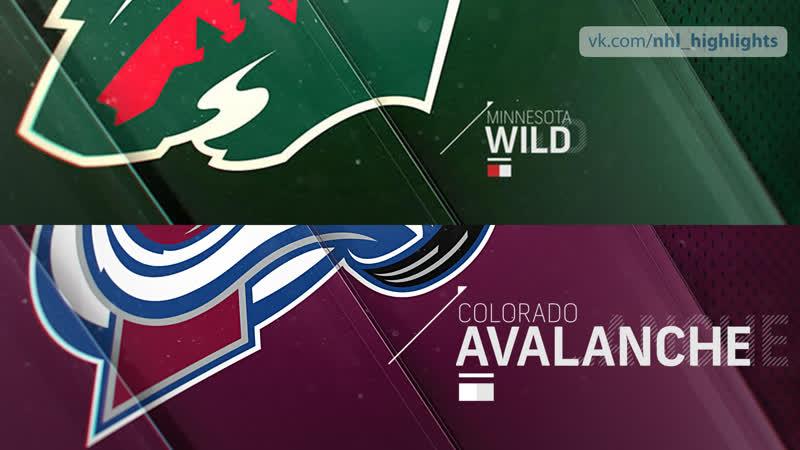 Minnesota Wild vs Colorado Avalanche Jan 23, 2019 HIGHLIGHTS HD