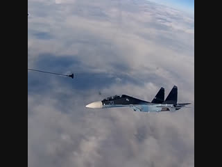 Тренировки СУ-30СМ и СУ-24