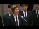 180924 BTS at the 73rd @UN General Assembly in NYC