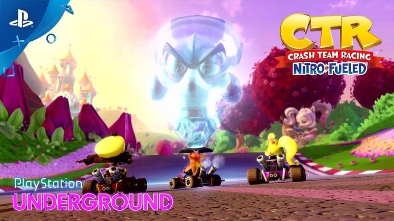 NS\PS4\XBO - Crash Team Racing Nitro-Fueled
