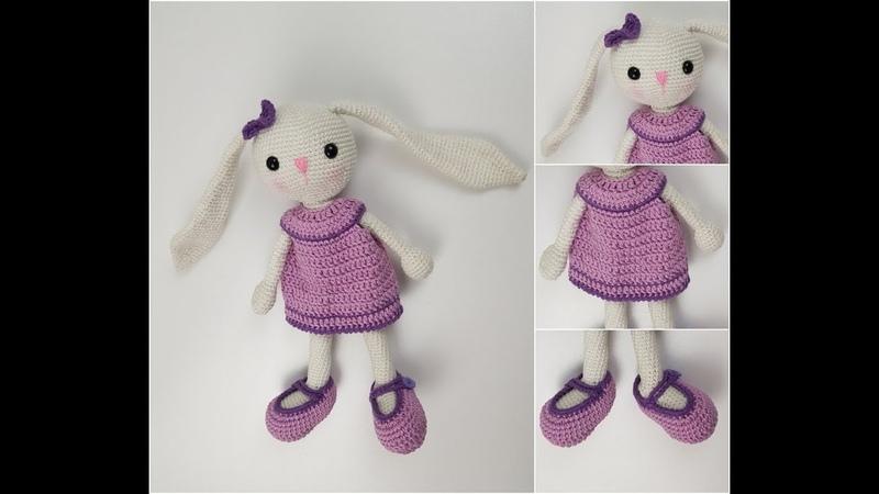 Amigurumi Tavşan Yapımı - Uzun Kulak Tavşan Yapımı