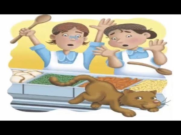 قصة القط هرهور في المدرسة