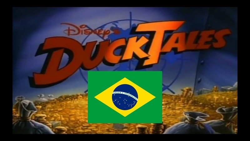 DuckTales Intro Brazilian Portuguese VHS NTSC HD With Lyrics Translations