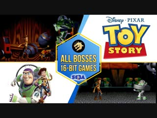 Toy Story All Bosses История игрушек Все Боссы Sega 16-bit Mega DriveGenesis - (aneka.scriptscraft.com) 720p