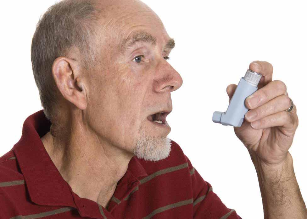 Люди с черной болезнью легких могут извлечь выгоду из использования ингалятора.