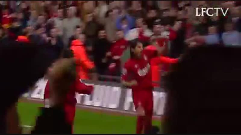 Liverpool vs Crystal Palace 3:2 |HD|( 2004) Hatrick Baros