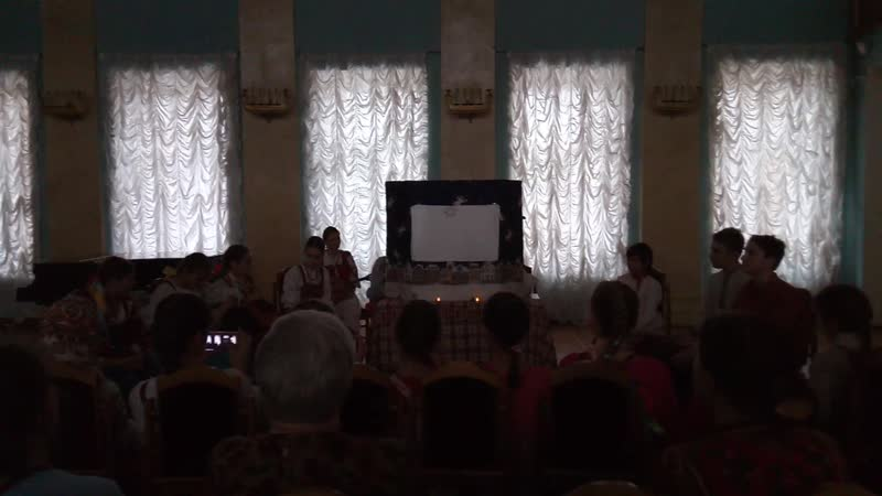Вертеп средней группы АТИМР На Огородной Слободе.