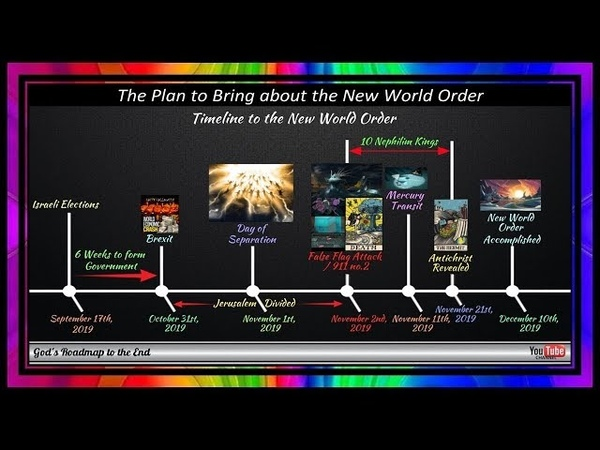 The Evil Plan To Bring About The New World Order ~ Shown To Us In Plain Sight!