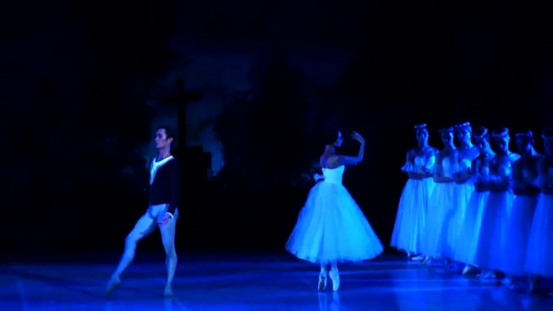 01.08.2018 Giselle, Voronova, Chevychelov, Kozhemyakin, Dovidovskaya, Moscow Classical Ballet
