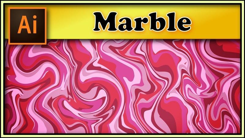 Marble texture - Adobe Illustrator tutorial